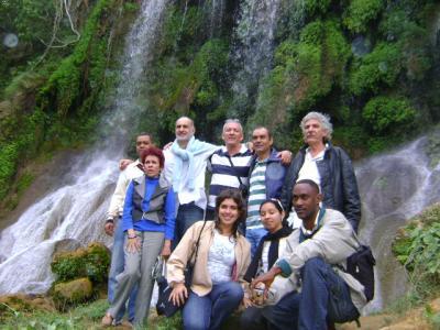 El Nicho, montañas del Escambray