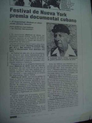 Documental Médicos en Girón