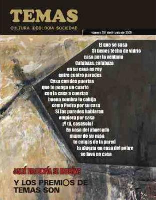 Revista Temas: Transformación integral del barrio