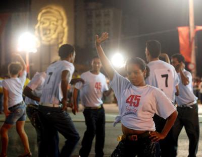 Día internacional de la juventud en Cuba a golpe de casino