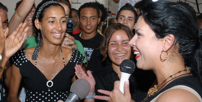 Olga Tañón en La Habana. Paz sin fronteras