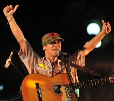 Manu Chao en Cuba. Hoy en Santa Clara