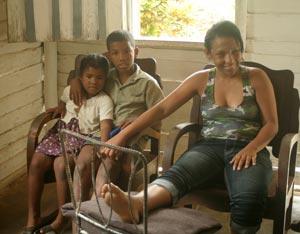 Alina Almeida: sobreviviente del sismo en Haití