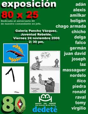 COMIENZAN EN CUBA ACTIVIDADES POR 80 CUMPLEAÑOS DE FIDEL