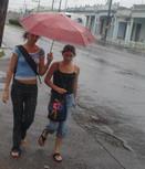 CUBA.:Intensas precipitaciones en Pinar y la Isla de la Juventud