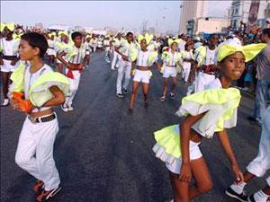 COMENZÔ  CARNAVAL DE LA HABANA. CUBA