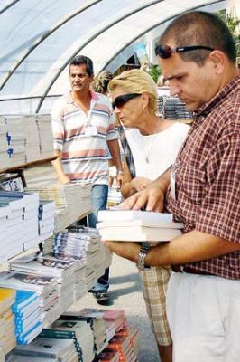 FERIA DEL LIBRO EN CUBA, POR DENTRO