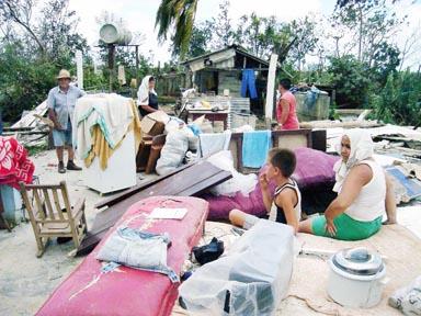 AFECTADAS 90 000 VIVIENDAS POR HURACÁN GUSTAV: CUBA