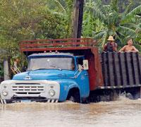 Huracán Ike en Pinar del Río