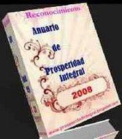 PREMIO ANUARIO DE PROSPERIDAD 2008