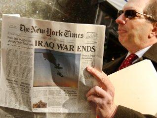 Falsifican EL New York Times: Fin de la guerra