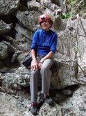 Ladera de la gruta