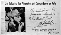 El día que Pinar del Río recibió a Fidel