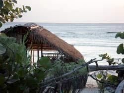 Campamento de monitoreo de tortugas marinas. Guanahacabibes