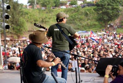 Desde Honduras el arte en bien de la nación y Latinoamérica
