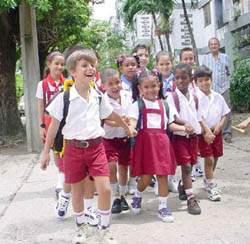 Cuba, el inicio del curso escolar