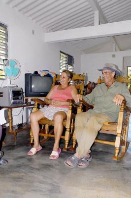 La casa de Agustín y María