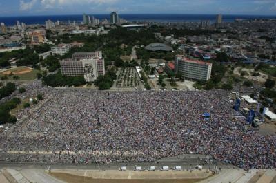 Fotos del concierto Paz sin fronteras. La Habana. Cuba