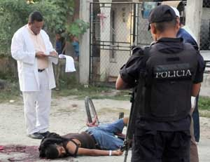 Asesinan a un adolescente en Honduras. Foto