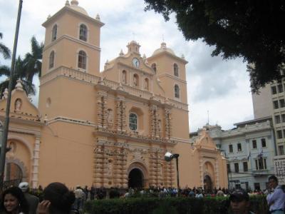 Iglesia de Jesús de Nazareth en Honduras