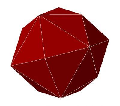 Hexaedro rosa