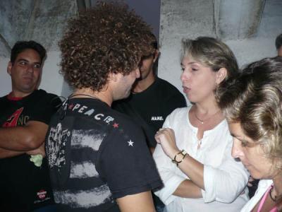 Raúl Paz y Miriela Mijares