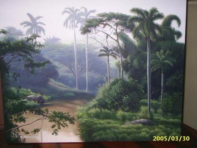 El paisaje de Daussel Valdés