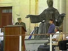 Fidel Castro Ruz entre los universitarios cubanos