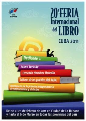 Convocan a la XX FERIA INTERNACIONAL DEL LIBRO CUBA 2011